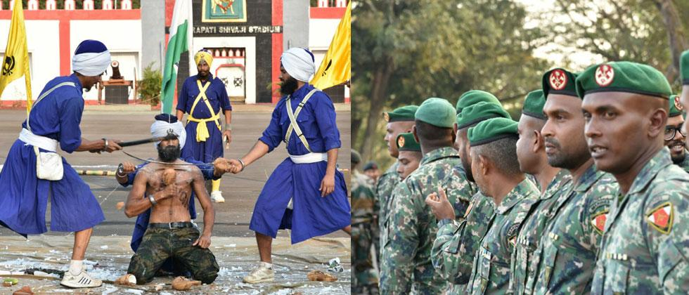Exercise Ekuverin - Joint military exercise of Indian and Maldives army begins in Belgaum