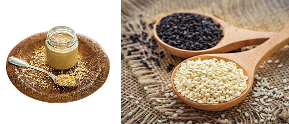 Sesame seeds with their powerful flavour and therapeutic use, should definitely be included in your diet this season