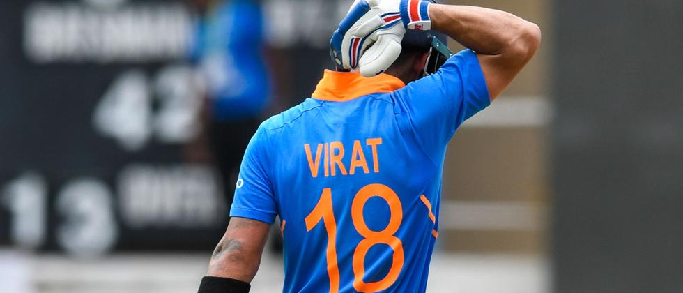 Kohli, Bhuvneshwar hand India lead in three-match ODI series against Windies