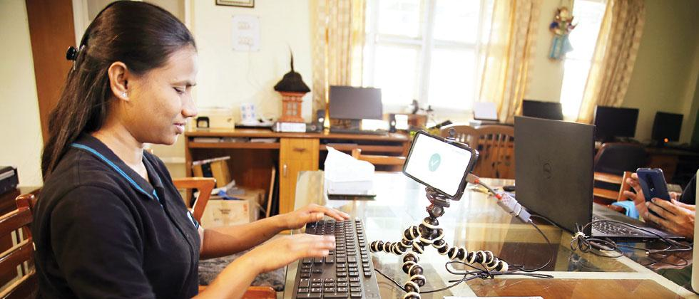 Empowering the visually impaired to write