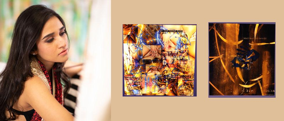 Akshita Gandhi uses lightboxes to make attractive art and tell some profound stories