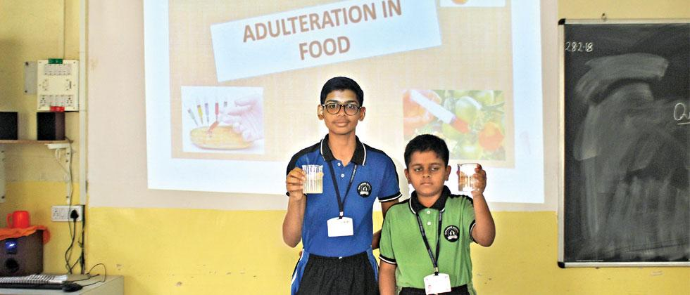 Food Adulteration and Superstition workshop was held at City Pride School