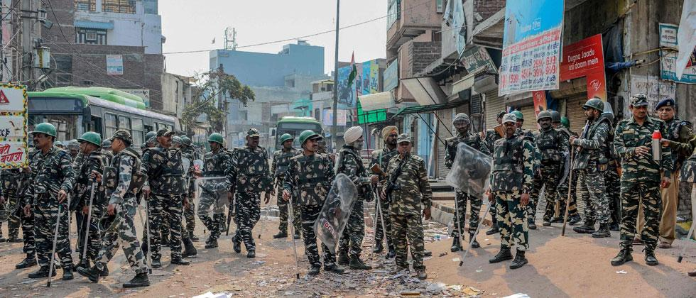 Delhi riots toll climbs to 38 as violence ebbs but doesn't subside