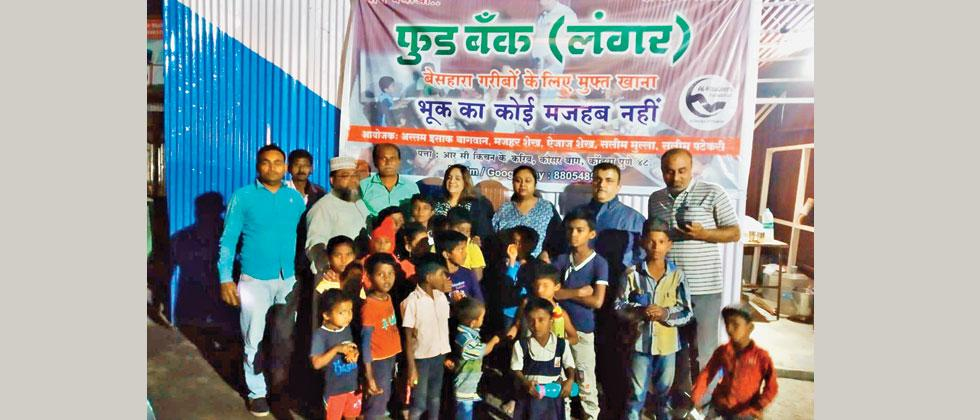 Food Bank Takes Off In Kondhwa