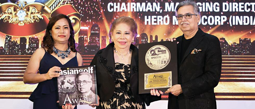 Munjal first Indian to be inducted into Asia Pacific Golf Hall of Fame