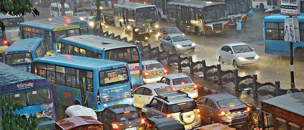 Traffic police have sent a list of these 85 locations of waterlogging to the Pune Municipal Corporation (PMC).