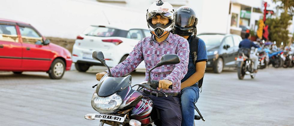 After cars, bike pooling takes off in crowded Pune