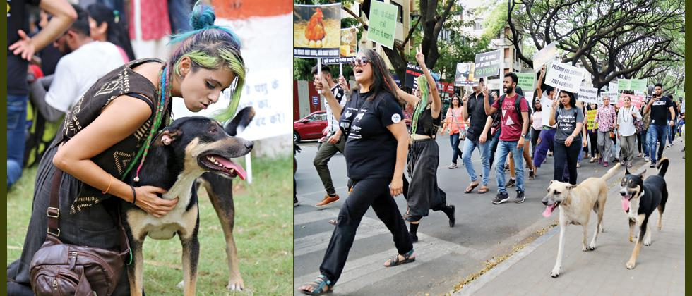 Animal Liberation March 2019 organised in city