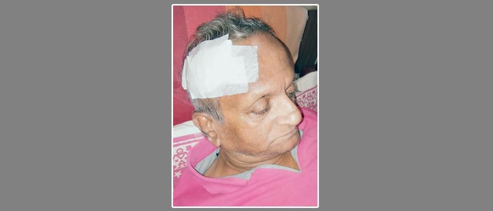 Playwright Deshpande attacked
