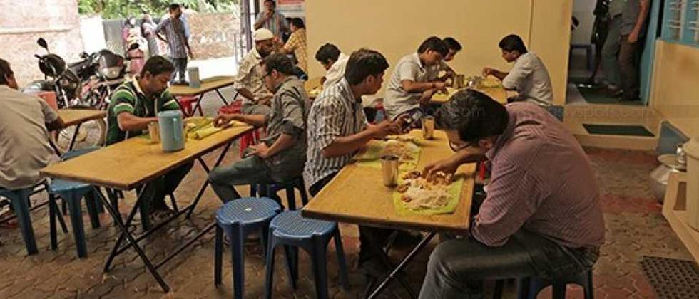 Students, bachelors struggle to get food