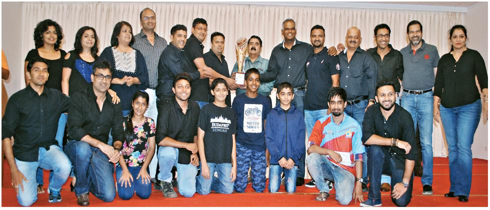 Team Kukris pose for a picture at PYC Hindu Gymkhana on Saturday.