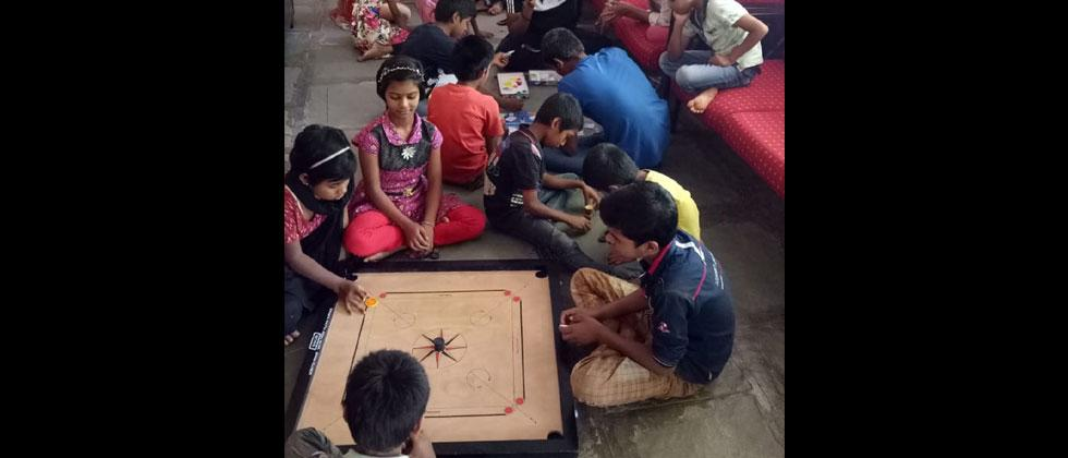 Orphanage caretakers move in with kids to take care of them