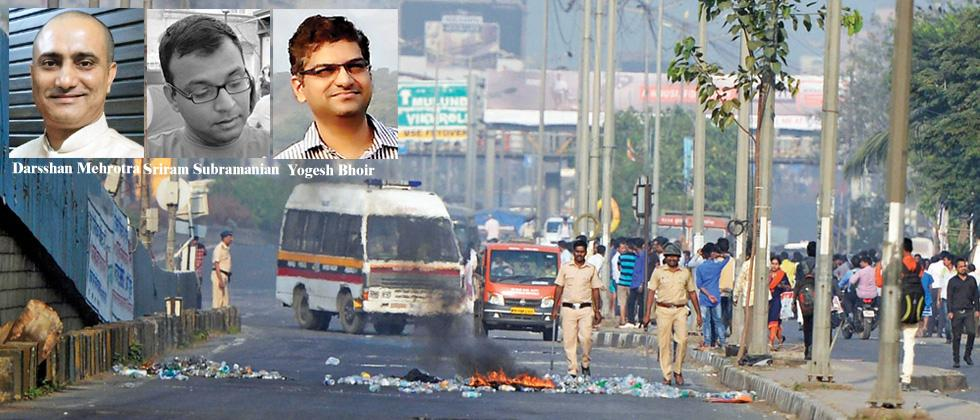 Caste, violence and the urban youths