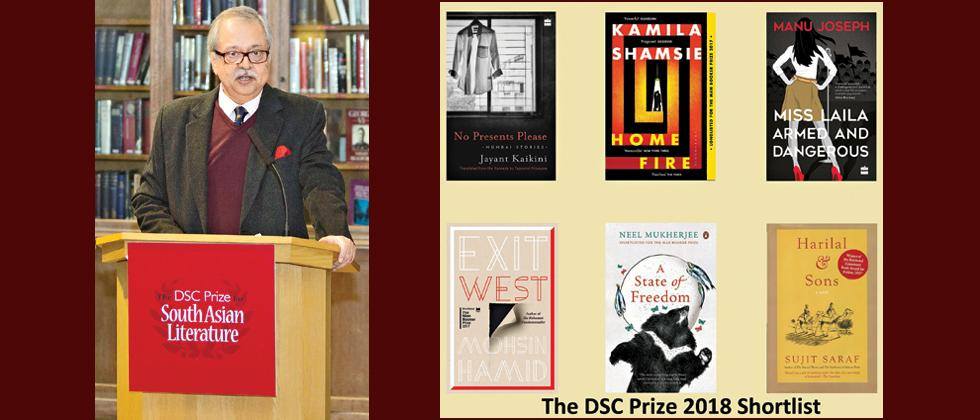 Four Indian and two Pak authors vie for DSC Prize