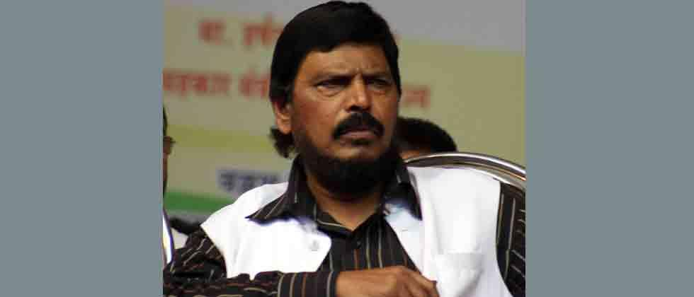 """A video clip where Athawale, Union Minister of State for Social Justice, is seen raising slogan """"Corona Go..Corona Go"""" in the company of Chinese diplomats went viral some days ago."""