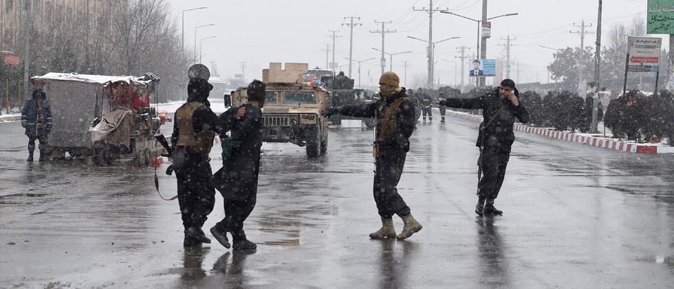 Gunmen attack Kabul military compound, multiple casualties