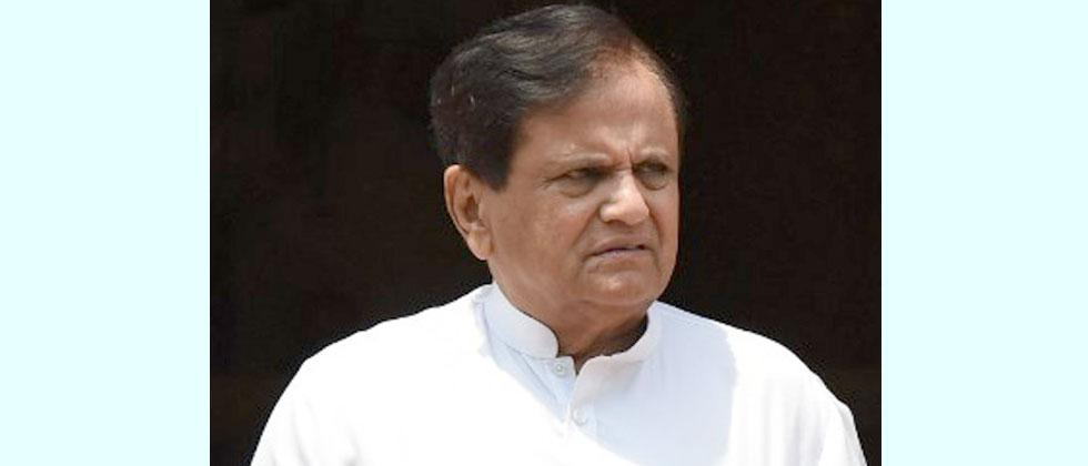 Ahmed Patel: ED's questioning a diversionary tactic by BJP