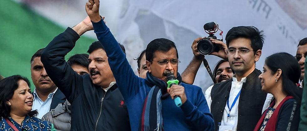 After Delhi win, AAP hints at going national