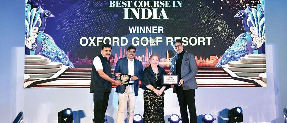 Twin Honour For Oxford Golf Resort at Asian Awards 2019