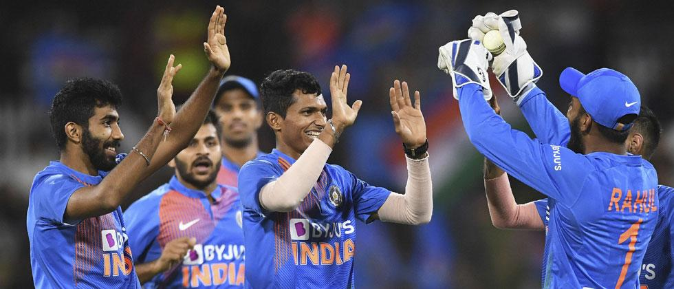 Bumrah, Rohit star as India complete 5-0 sweep