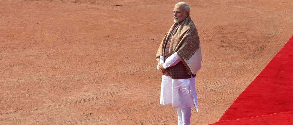 Modi leaves for Davos to attend World Economic Forum