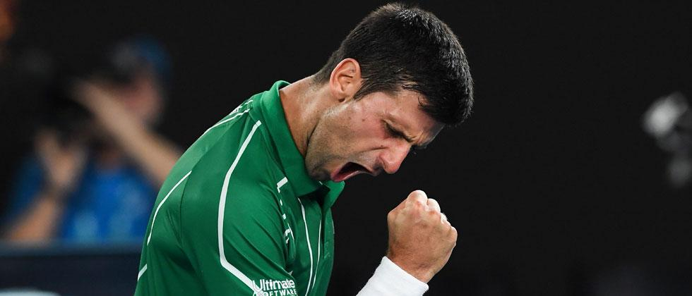 Djokovic beats Federer in straight sets to reach final