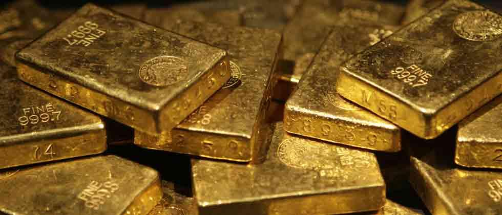 Yellow metal prices fall by Rs 85 on weak global trend
