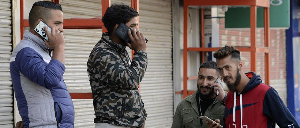 Post-paid mobile phone services restored in Kashmir without internet