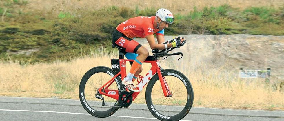 Radkar is first Indian male to complete Ironman 25 times