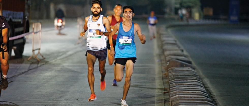 Never say never again: Matre runs for glory to forget family tragedy