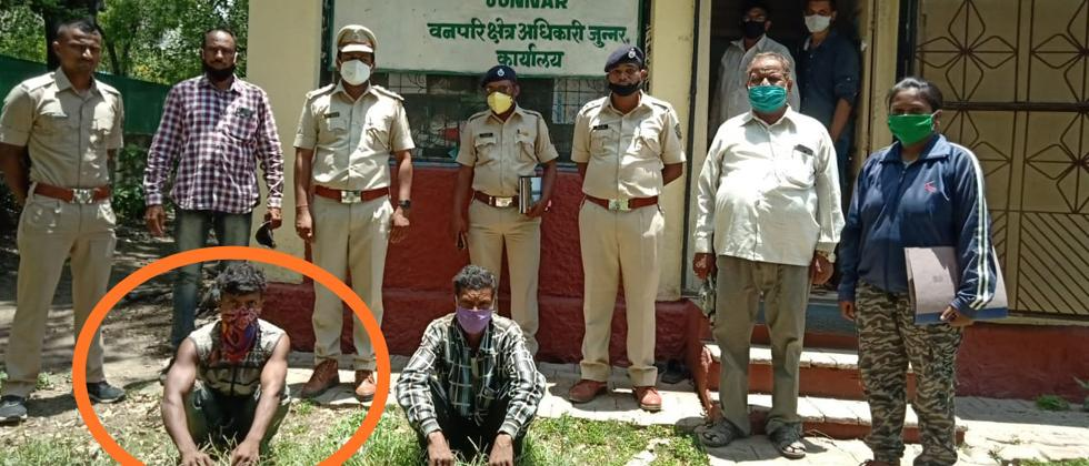 Forest Department arrests two for hunting and eating monkey