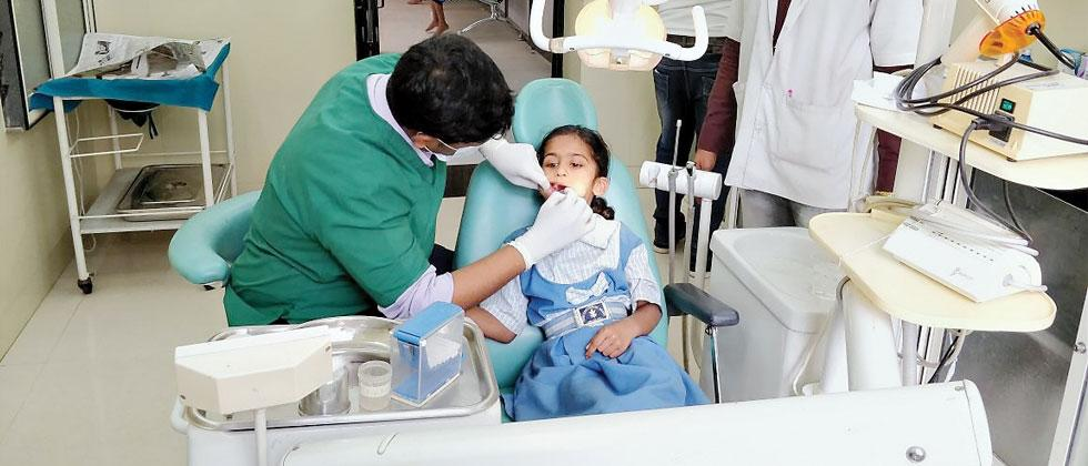 Cantt hospital takes initiative to improve dental health of school students