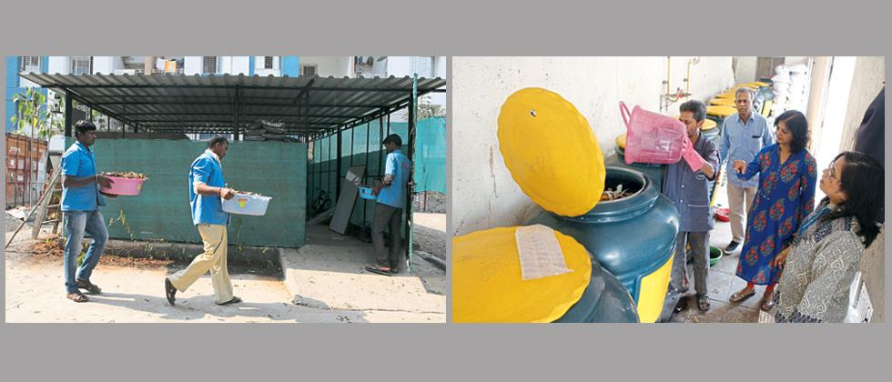 Two housing societies in PCMC get Swachh award for zero waste