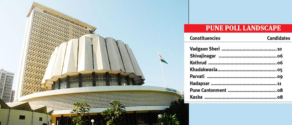 152 Candidates, Including Many Bigwigs, File Nomination Papers In Pune District