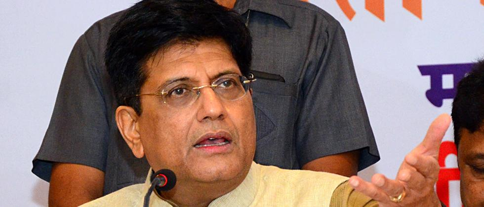 Piyush Goyal reviews the progress of Dedicated Freight Corridor Corporation India Limited
