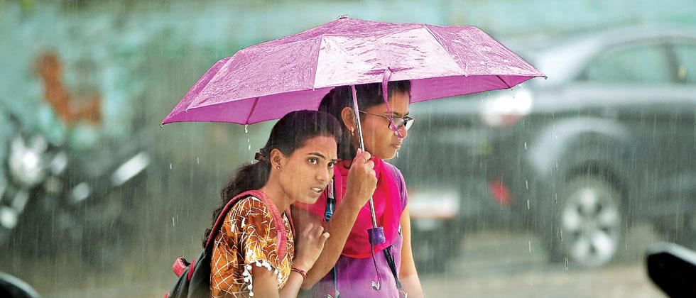 Moderate Rain Accompanied By Thunder Expected Today