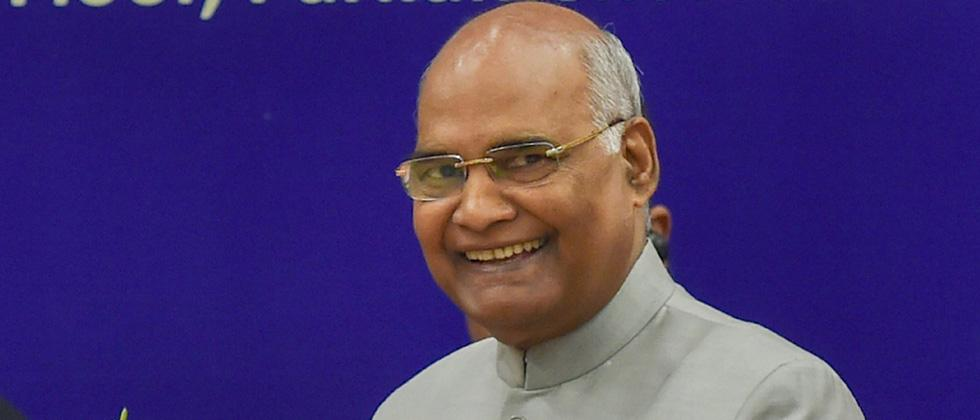 President Ram Nath Kovind takes 30 per cent salary cut for a year over coronavirus outbreak