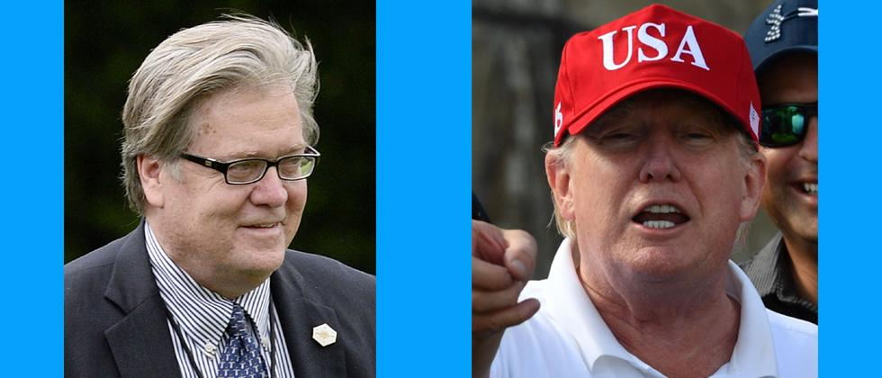 Trump slams ex-aide Bannon; says he lost his mind