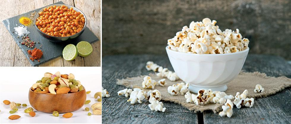 healthy snacks you can have while self-isolating at home