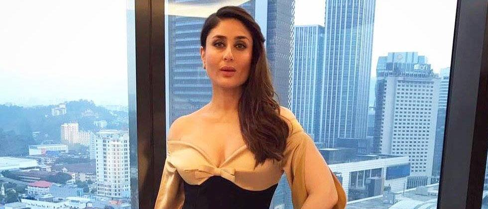 Kareena aces 'work from home' with a pout