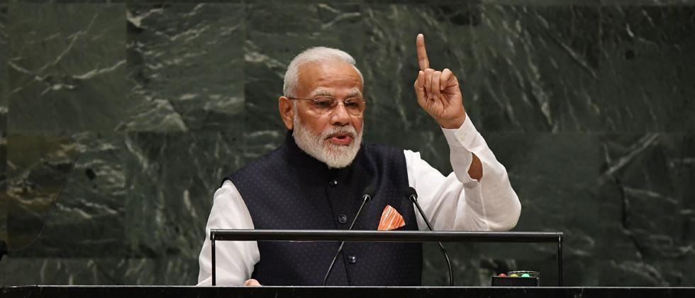 PM dares Opposition to bring back Article 370