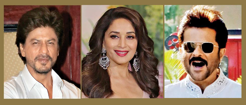 SRK, Madhuri, Anil invited to be the Oscar Academy's Class of 2018