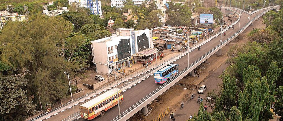 Pune: PMC gives conditional NOC to PMRDA to demolish SPPU flyover