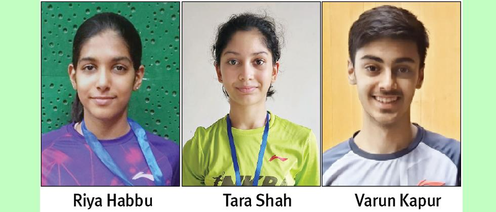 Three NKBA trainees selected for Asian Badminton Championship