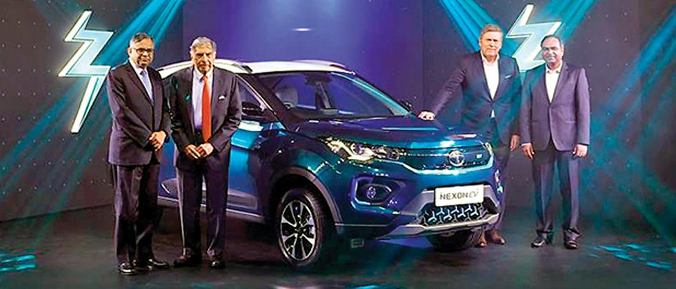 Tata's new Nexon Electric Vehicle launched at Rs 13.99 lakh