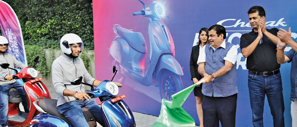 Bajaj's Electric Scooter Chetak To Be Available From January