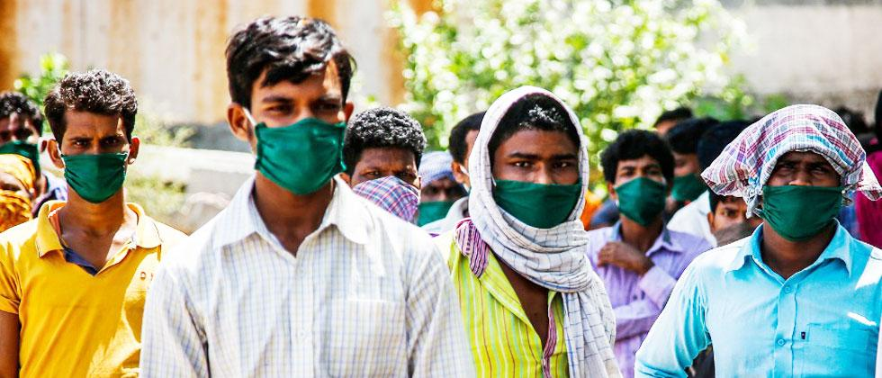 Disposable masks might cause garbage problem