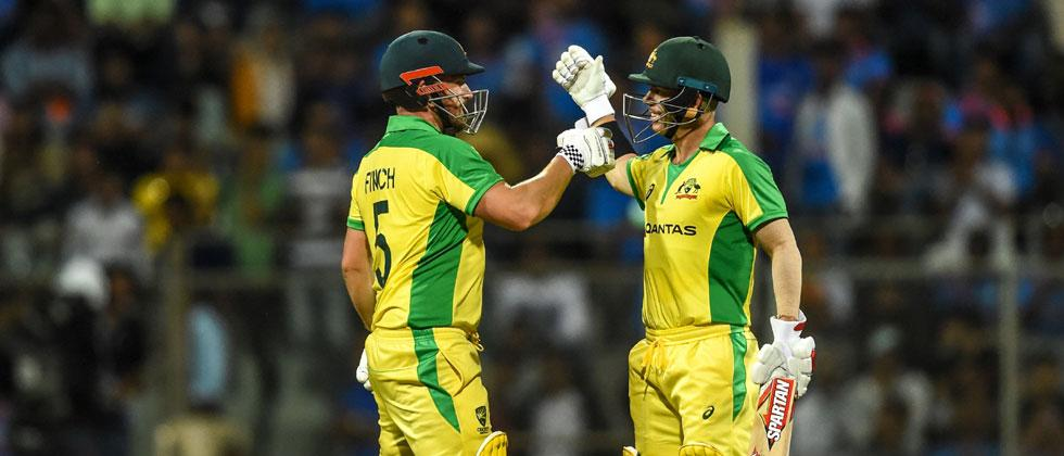 Warner, Finch's record stand flattens India