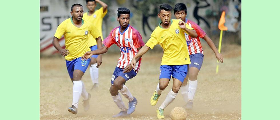 Infants FC storms into final beating SKF 4-3