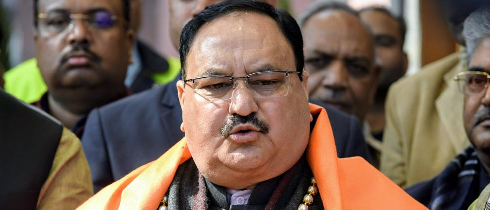"""BJP national president J P Nadda on Sunday dubbed the Maharashtra government led by Uddhav Thackeray as """"unnatural and unrealistic"""", saying it has put brakes on the state's development."""